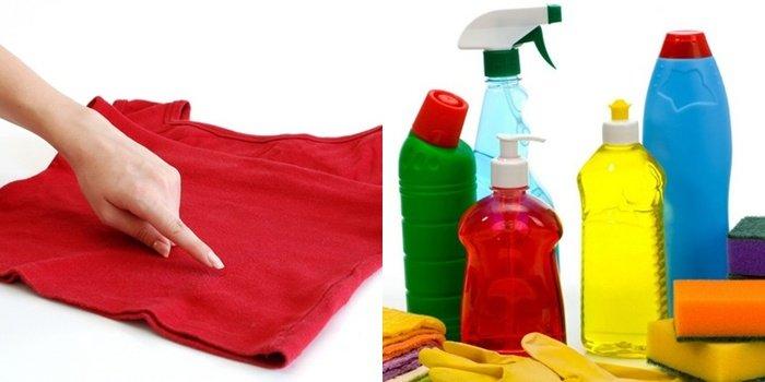 Чем удалить краску эмаль с одежды