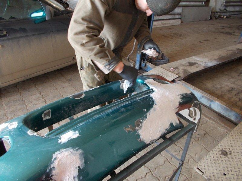 Подготовка к покраске загрунтованного пластика