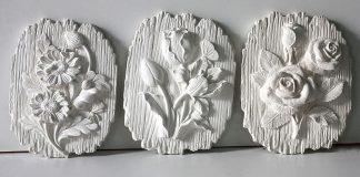 барельефы из гипса
