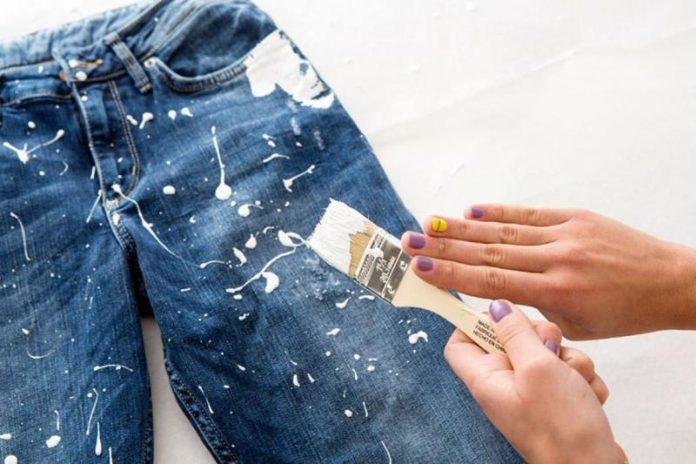 как удалить пятно от краски