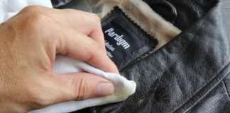 пятно на куртке