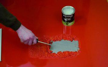 удаление масляной краски